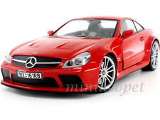 MOTORMAX 79161 MERCEDES BENZ SL 65 AMG BLACK SERIES 1/18 DIECAST RED