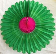 HANGING TISSUE PAPER FAN FLOWER WEDDING BIRTHDAY PARTY BACKGROUND DECORATION