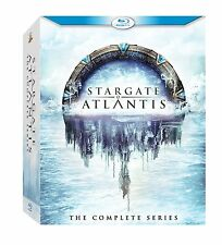 Stargate Atlantis The Complete TV Series BluRay Boxed Set Collection + Xtras NEW
