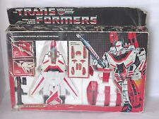 TRANSFORMERS G1**JETFIRE 100 % COMP**ORIGINAL 80'S**GREAT COND**BOXED