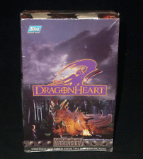 1996 Topps Trading Cards Widevision DragonHeart Factory Sealed Dragon Heart