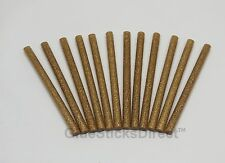 "Gold Glitter Faux Wax Glue Stick mini X 4"" 12 sticks"