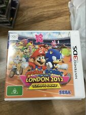 Mario Sonic at the london 2012 Olympic 3DS