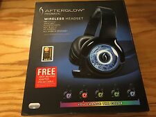 PDP Afterglow Prismatic Wireless Headset (PL9930) for PS3,XBOX 360,PC,Wii,WiiU