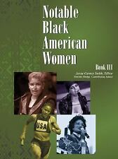 Notable Black American Women: Book III-ExLibrary