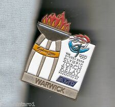 WARWICK  2000 OLYMPIC AMP TORCH RELAY PIN