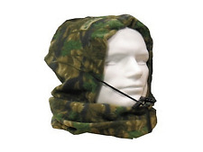 A0202 CARPFISHING CAMO SNOOD FULLY FLEECED BERRETTO PASSAMONTAGNA CACCIA PESCA