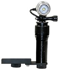Action Video Light with Camera mount bracket; Intova AVL. Waterproof photography