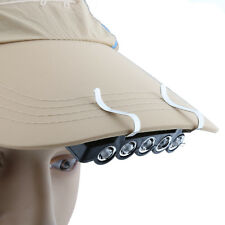 Outdoor Fishing Hunting Cap Hat Light 5 LED Headlamp Hands Free Lamp Torch