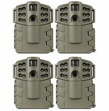 Moultrie Game Spy A-5 Gen2 Low Glow IR Digital Trail Hunting Cameras (4 Pack)