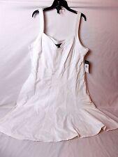 Lauren Ralph Lauren Cotton Fit and Flare Dress White Size 16