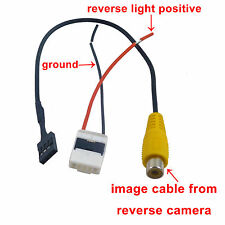Video Harness for Toyota OEM Stereo to Reverse camera Hiace Camry RAV4 2009-12