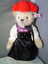 STEIFF Babel Black Forest Teddy Bear 11 inch Mohair Limited Edition for 2012