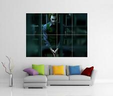 THE JOKER DARK KNIGHT BATMAN HEATH LEDGER GIANT WALL ART PICTURE PHOTO POSTER