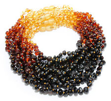 Wholesale Genuine Baltic Amber Beads Baby Child Necklaces 11 Color Variety Lot