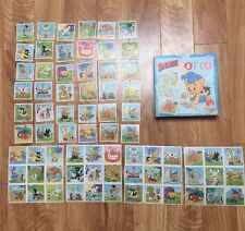 Vintage Bamse Bear Lotto Game Karnan Spel Sweden Swedish Cartoon Comic
