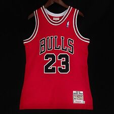 100% Authentic Michael Jordan Mitchell Ness 97 98 Bulls NBA Jersey Size 40 M