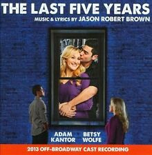 The Last Five Years/2013 O.B.C.R. by Jason Robert Brown *New CD*