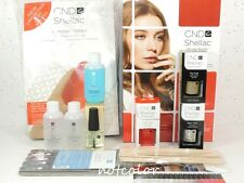 CND Shellac Starter INTRO PACK Kit 1 Color & Base Top Coat Original Wraps..