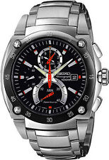 SEIKO Men's SPC001 Sportura Retrograde Chronograph Watch FREE SHIPPING