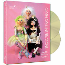 """Cloth Doll Inspirations"" 2-disc DVD set w/ Patti Medaris Culea - Free UK P&P"