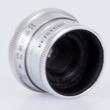 "# Keystone Elgeet 1/2"" F2.5 C Mount Lens For Film Movie Cameras (#115)"