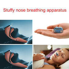Nose Care Relieve Snoring Help Sleep Care Snore Breathing Air Apparatus Blue