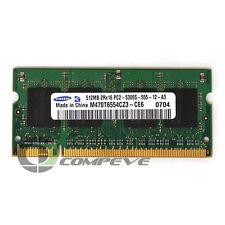 Samsung 512MB DDR2 PC2-5300S Mobile Memory Module M470T65554CZ3-CE6 RAM