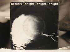 """GENESIS - TONIGHT, TONIGHT, TONIGHT / IN THE GLOW OF THE NIGHT 45 GIRI 7"""" ITALY"""