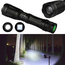 5000LM 5 Modes XML T6 LED Zoomable Focus Adjustable 18650 Flashlight Torch Lamp