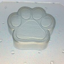 "Flexible Resin Or Chocolate Mold Dog Or Cat Paw 2"" x 2"" x 1/2"" Deep"