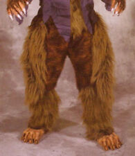 Beast Legs & Feet Brown Hairy Werewolf  Animal Adult Latex Halloween Costume