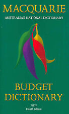 Macquarie Budget Dictionary by MacQuarie Library Pty.Ltd (Paperback, 2006)