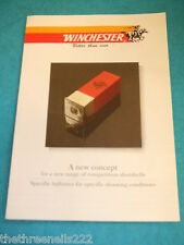 CATALOGUE - WINCHESTER COMPETITION SHOTSHELLS 8PP (UNDATED)
