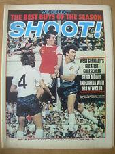 SHOOT MAGAZINE APRIL 28 1979 GERD MULLER - GEORGE BEST - FRANK STAPLETON