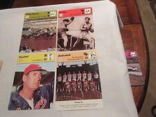 Sportscaster Cards 1978 Deck # 13 Cards # 1-24 Jack Dempsey Archie Griffin GARO