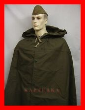☆ soviet russian red army soldier rain cape poncho plash-palatka tent coat +rope