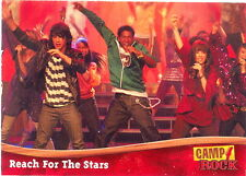CAMP ROCK 2008 TOPPS PROMO CARD P1 DISNEY CHANNEL MOVIE