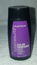 Matrix Total Results COLOR OBSESSED Antioxidant Shampoo Care 1.7 oz/50mL New