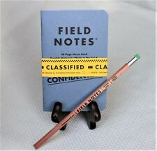 """Field Notes Loot Crate """"Classified"""" Edition Notebook 2-Pack & Field Notes Pencil"""