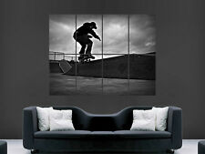 SKATE SKATEBOARDING HUGE LARGE WALL ART POSTER PICTURE PRINT