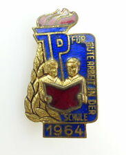 #e2503 Band V Nr.1031/64 DDR Abzeichen für gute Arbeit in der Schule JP 1964
