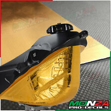 Gold Reflective Adhesive Heat Shield Material Universal Motorcycle Car Truck