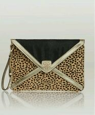 GUESS  ENVELOPE CLUTCH LEOPARD