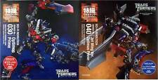 Kaiyodo Revoltech Series No.30 Optimus Prime & No. 40 Jet Wing Optimus Prime