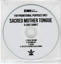 (DQ421) Sacred Mother Tongue, A Light Shines - DJ CD