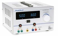 PeakTech 6120 AC/DC Labornetzgerät/Laboratory Power Supply 0 - 30 V/5 A
