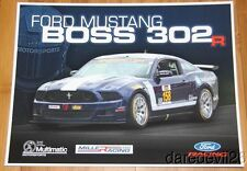 2014 Multimatic Motorsports Ford Mustang Boss 302R GS IMSA CTSC postcard