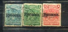 Africa Rhodesia Old Stamps Lot 2