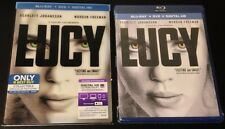 LUCY Blu-Ray, DVD, Digital Copy Best Buy Exclusive Lenticular Slip Cover. Rare!